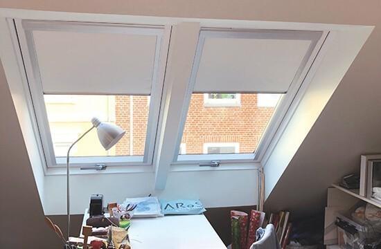 Interior design roof windows