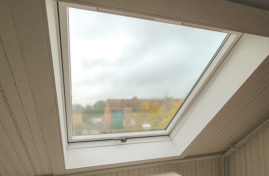 Roof window - Energy efficient housing in the Netherlands