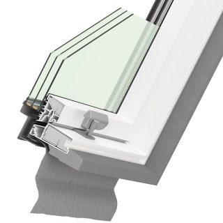 Ultima Energy PVC cross-section of window